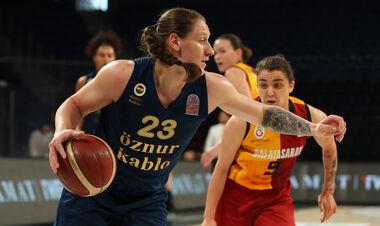 Ягупова в составе Фенербахче стала чемпионкой Турции
