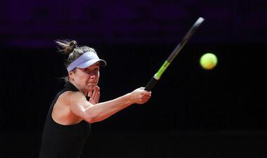 Свитолина одержала волевую победу над Анисимовой на турнире в Риме
