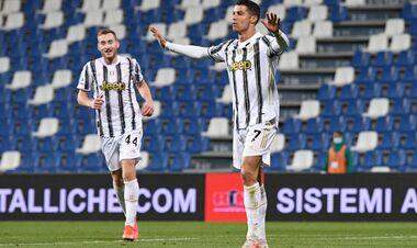 Роналду забил 100-й гол за Ювентус в рекордные сроки