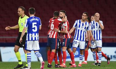 Атлетіко переграв Реал Сосьєдад і близький до чемпіонства в Іспанії