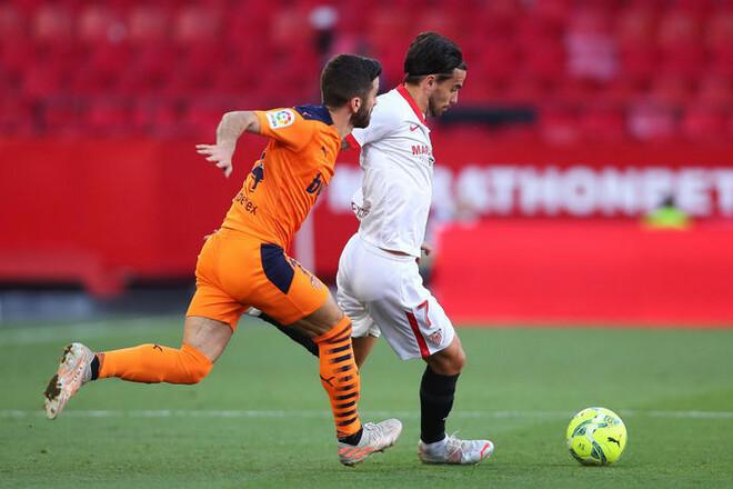 Севилья — Валенсия — 1:0. В погоне за лидерами. Видео гола и обзор матча