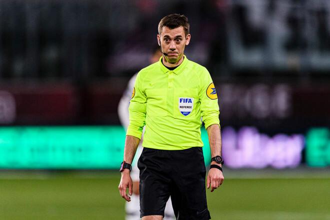 Стал известен арбитр, который обслужит финал Лиги Европы