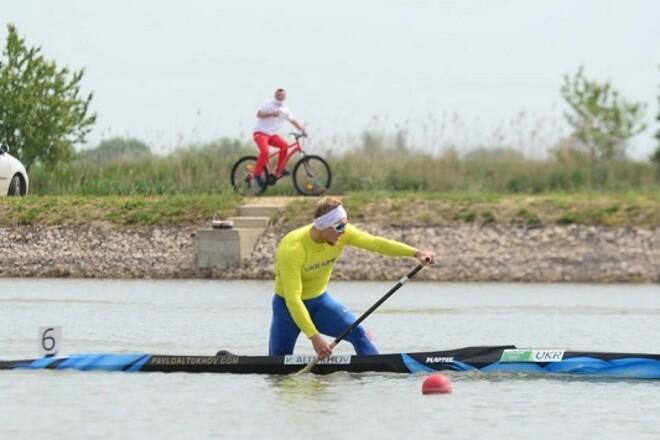 Українець Алтухов завоював олімпійську ліцензію у веслуванні на каное