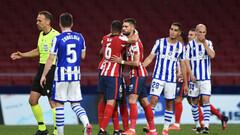 Атлетико переиграл Реал Сосьедад и близок к чемпионству в Испании