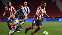 Атлетико — Реал Сосьедад — 2:1. Видео голов и обзор матча