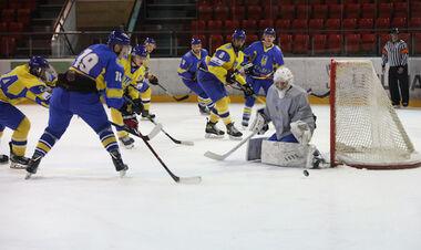 Збірна України закинула 8 шайб у другому контрольному матчі