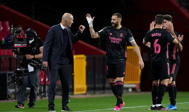 Гранада – Реал – 1:4. Зидан имеет шансы на титул. Видео голов и обзор матча