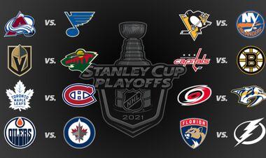 Стали відомі всі пари першого раунду плей-оф НХЛ