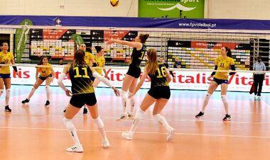 Женская сборная Украины уступила Швеции в пяти партиях