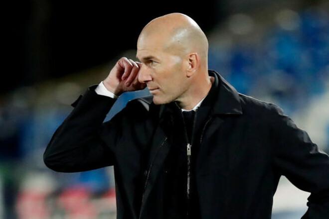Зидан может покинуть Реал, даже если станет чемпионом Испании