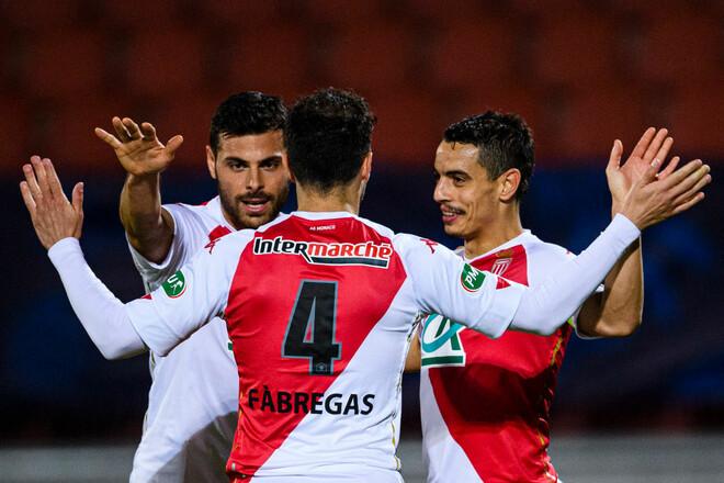 Фабрегас забивает. Монако вышел в финал Кубка Франции, где сыграет с ПСЖ