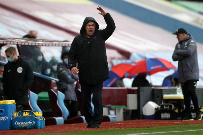 Астон Вилла – Эвертон – 0:0. У Анчелотти не получается. Видеообзор матча