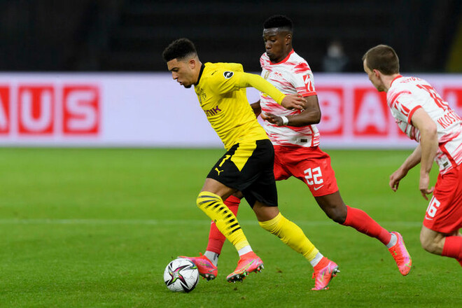 Лейпциг — Боруссия Дортмунд — 1:4. Видео голов и обзор матча