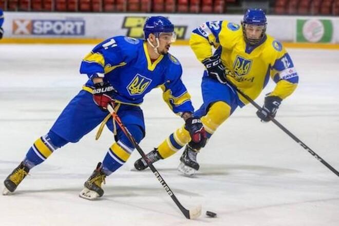 Сборная Украины по хоккею сыграла на турнире. Расписание матчей