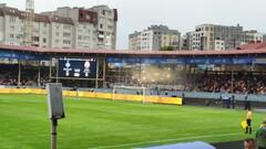 ВИДЕО. Как полиция жестко сдерживала фанатов перед финалом в Тернополе