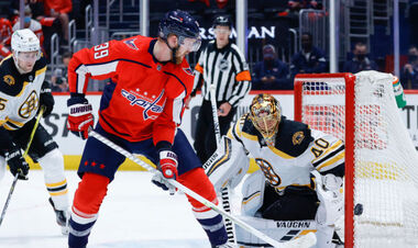 Стартовал плей-офф НХЛ. Вашингтон в первом матче обыграл Бостон