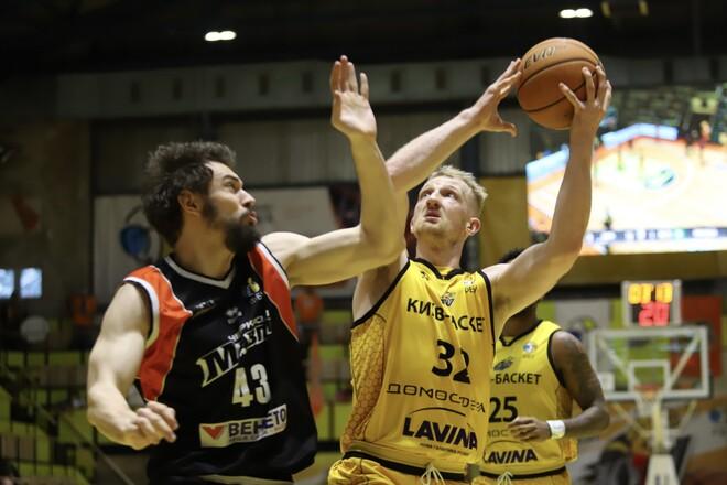 Киев-Баскет удвоил преимущество в четвертьфинале против Мавп