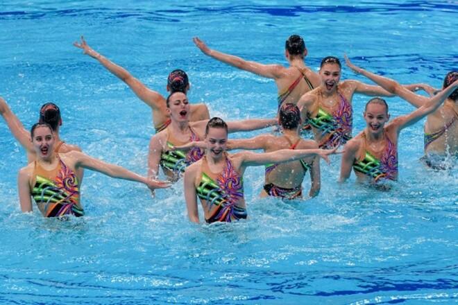 Артистичне плавання. Збірна України - найкраща команда чемпіонату Європи