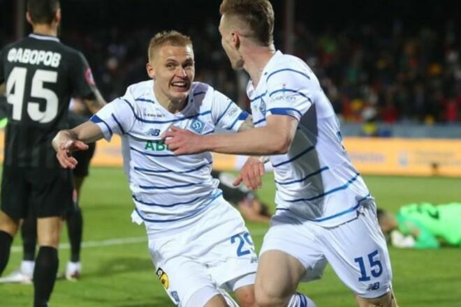 Руслан МАЛИНОВСКИЙ: «В финале Кубка Динамо очень хорошо выглядело»