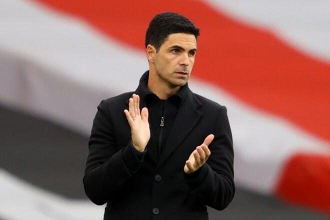 Арсенал не собирается увольнять Артету