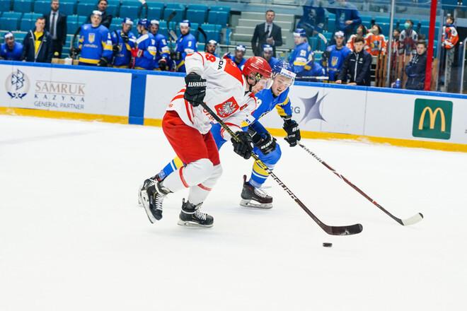 Польща – Україна – 4:3 OT. Текстова трансляція матчу