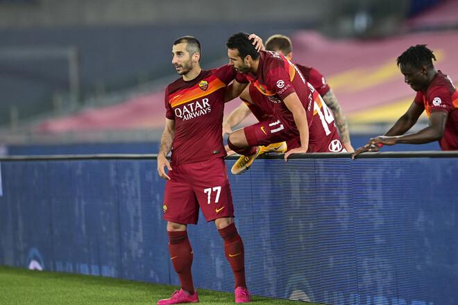 Рома обыграла Лацио в римском дерби, гарантировав себе участие в еврокубках