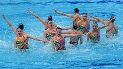 Артистическое плавание. Сборная Украины – лучшая команда чемпионата Европы