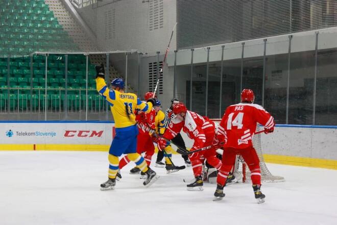 ФОТО. Как украинские хоккеисты после камбэка уступили Польше в овертайме