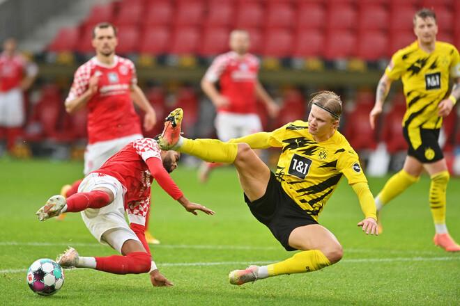 Майнц – Боруссия Дортмунд – 1:3. Видео голов и обзор матча
