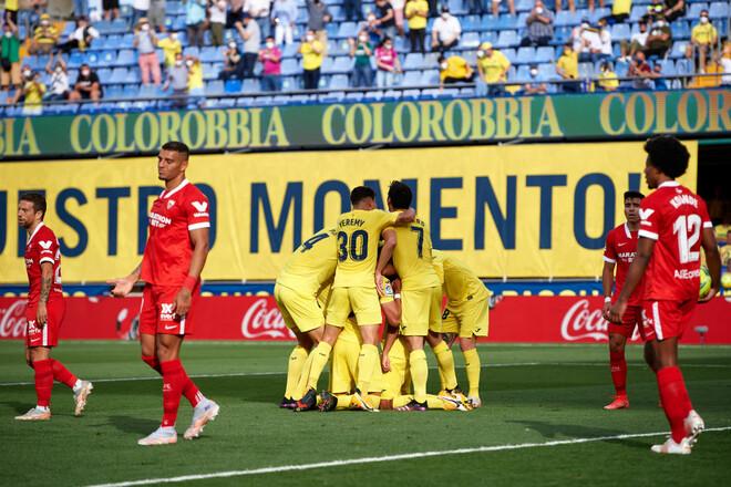 Вильярреал – Севилья – 4:0. Видео голов и обзор матча