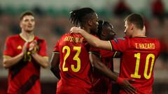 С Азарами и Де Брюйне. Бельгия первой объявила заявку на Евро-2020