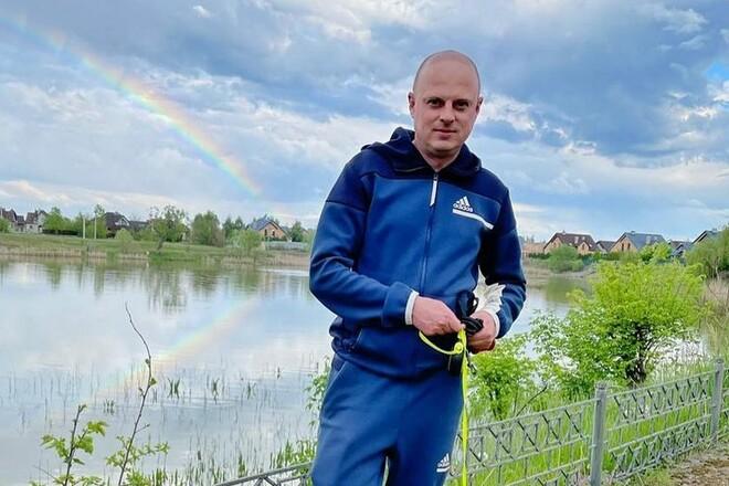 ФОТО. Украинский комментатор поймал карпа весом в 21 кг