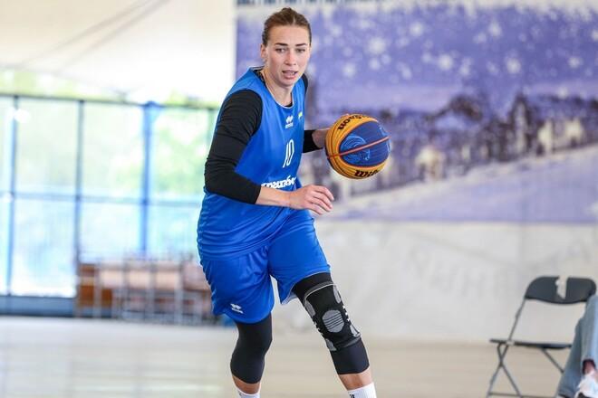 Сборная Украины 3х3 готовится к квалификации на Олимпийские игры