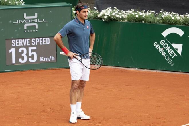 Возвращение не удалось. Федерер проиграл в первом матче на турнире в Женеве