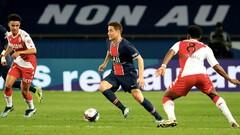 Монако - ПСЖ - 0:2. Текстовая трансляция матча