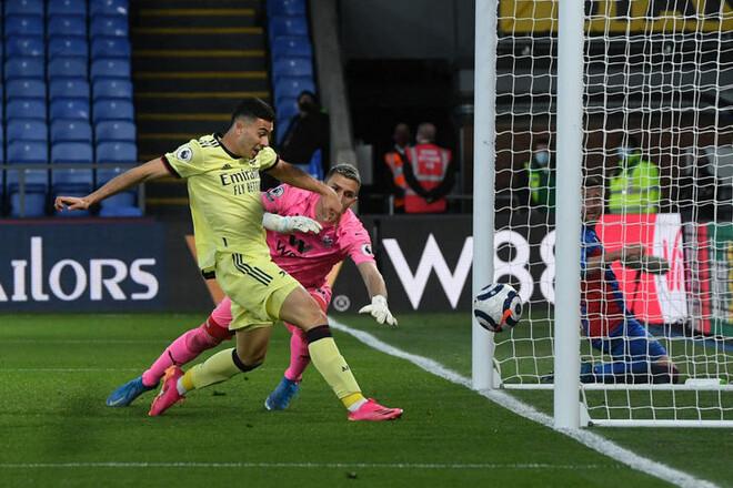Кристал Пэлас — Арсенал — 1:3. Видео голов и обзор матча