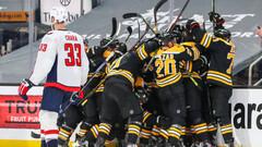 НХЛ. Два овертайма Бостона и Вашингтона, неудача Эдмонтона, успех Колорадо