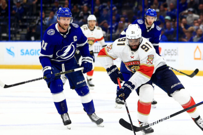 НХЛ. Победа Флориды в ОТ, камбэк Вегаса, успехи Питтсбурга и Монреаля