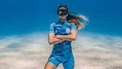 ФОТО. Интер Майами представил новую форму на дне океана