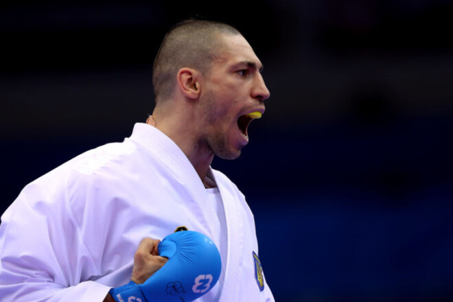 Перше золото України. Горуна виграв фінал ЧЄ з карате
