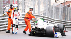 ВИДЕО. Мик Шумахер разбил болид в Монако и пропустит квалификацию