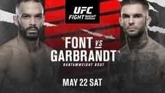 Де дивитися онлайн UFC: Роб Фонт – Коді Гарбрандт