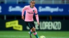 Эйбар — Барселона — 0:1. Гризманн принес победу. Видео голов и обзор матча