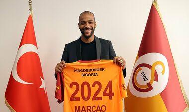 Маркао, которым интересуется Динамо, продлил контракт с Галатасараем