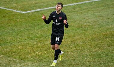 ВИДЕО. Украинец Шуранов оформил дубль в матче Второй Бундеслиги