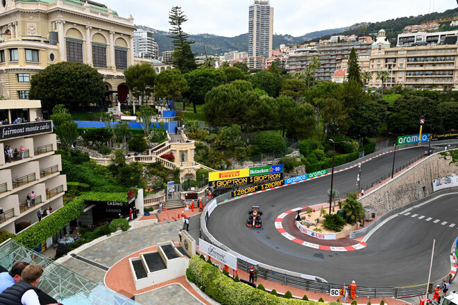 Формула-1. Гран-при Монако. Текстовая трансляция