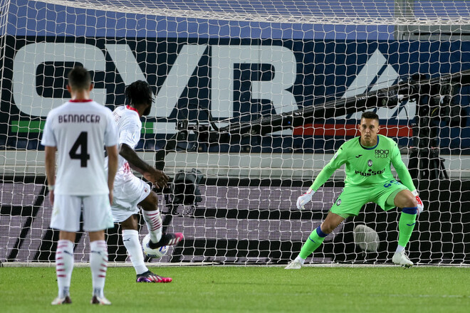 Аталанта – Милан – 0:2. Видео голов и обзор матча