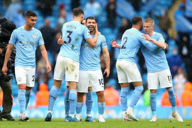 Манчестер Сити – Эвертон – 5:0. Видео голов и обзор матча
