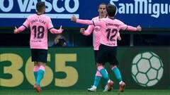 Барселона финишировала на третьем месте впервые с 2008 года