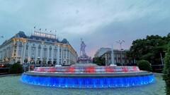ФОТО. Капітан Атлетіко пов'язав шарф клубу на пам'ятник Нептуну в Мадриді
